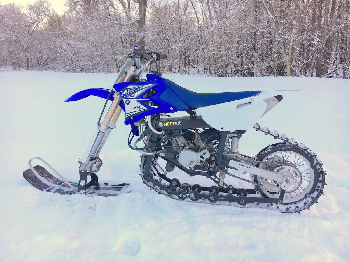 Snow Bike Motorcycle - Largest and The Most Wonderful Bike
